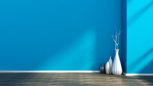 intérieur bleu home staging